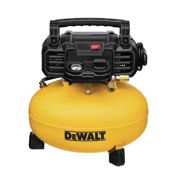 DEWALT Pancake Air Compressor, 6 Gallon, 165 PSI