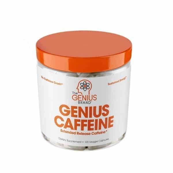 Genius Caffeine, Extended Release Microencapsulated Caffeine Pills