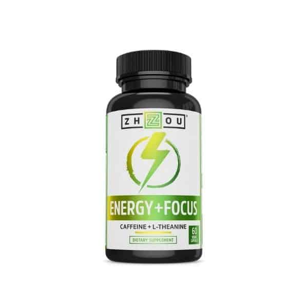Zhou Energy + Focus   Caffeine with L-Theanine