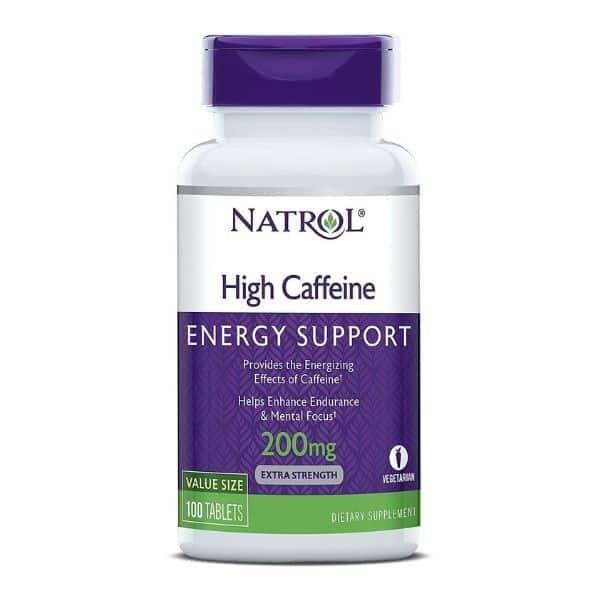 Natrol High Caffeine Tablets