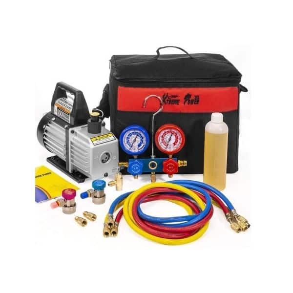 XtremepowerUS 71096 Vacuum Pump Refrigeration Kit