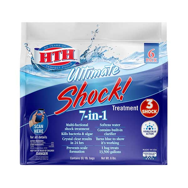 HTH 52028 Ultimate Shock Treatment Swimming Pool